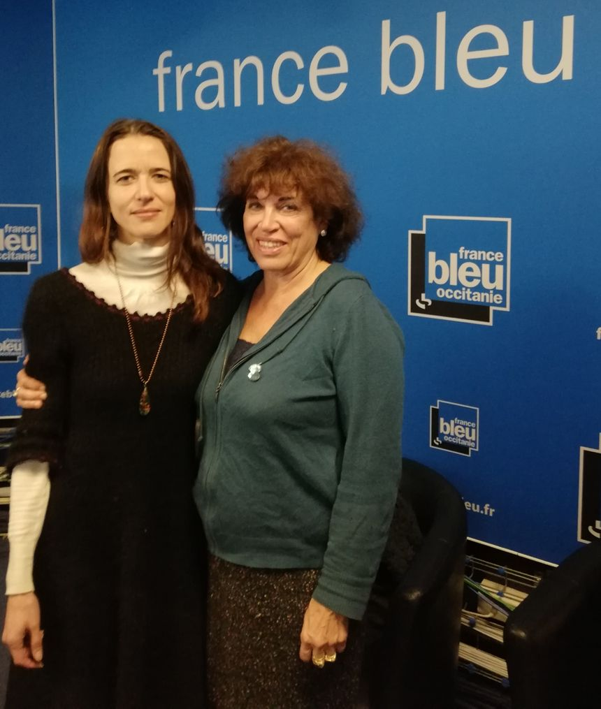 Beatritz Lalanne et Marie-Ange Bouzinhac Gacherieu