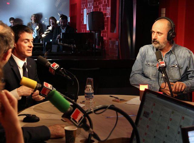 Manuel Valls et Daniel Morin