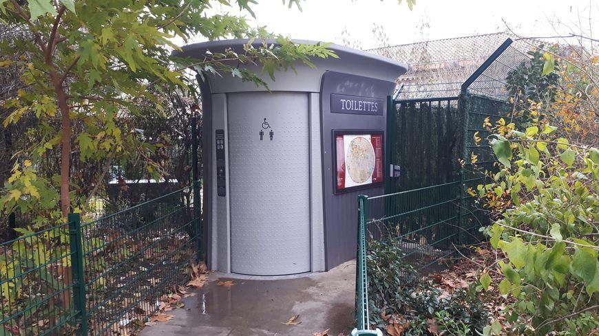 Les toilettes publiques de l'esplanade à Montpellier