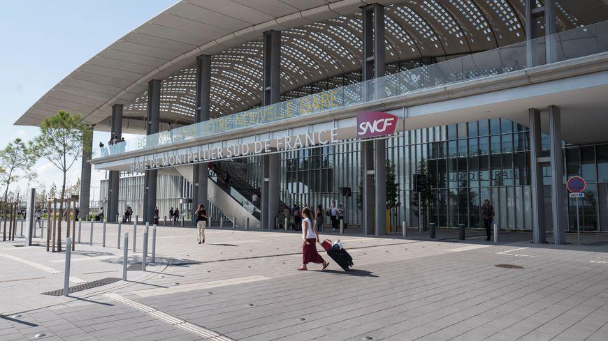 La gare Sud de France n'accueille que 8 trains de voyageurs par jour