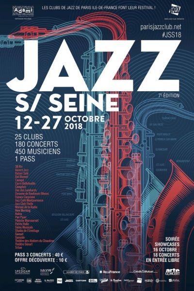 Affiche Jazz sur Seine 2018