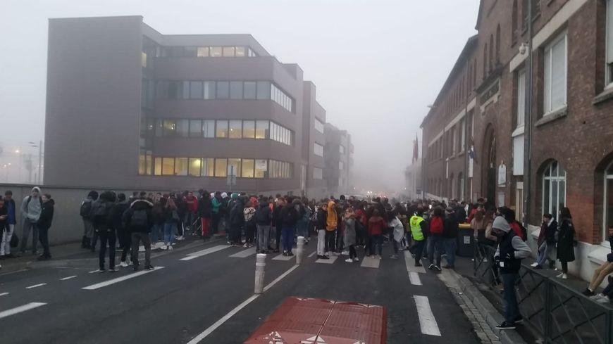 Des lycéens mobilisés à Reims ce mardi