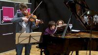 Brahms | Scherzo de la Troisième Sonate par Dana Ciocarlie et Nicolas Dautricourt