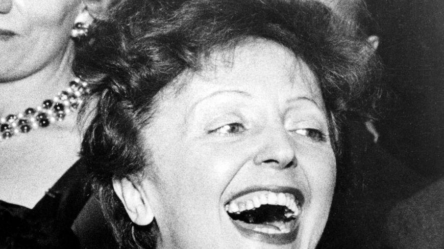 Portrait d'Edith Piaf (illustration)