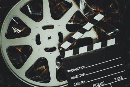 Bobine de pellicule cinéma
