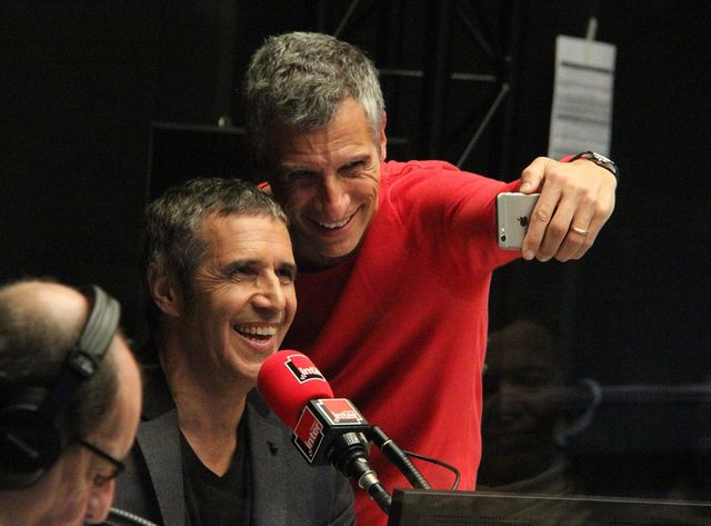Nagui et Julien Clerc