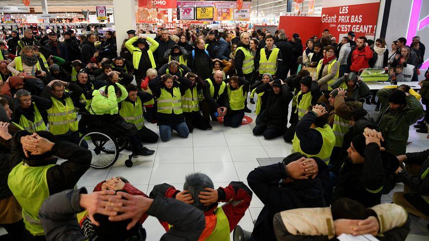 Les manifestations de Gilets Jaunes ont perturbé de nombreux commerces en novembre et décembre