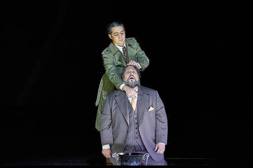 Mikhail Timoshenko (Pietro) et Nicola Alaimo (Paolo Albani)