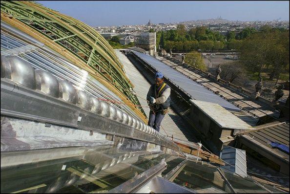 La nef du Grand Palais en restauration