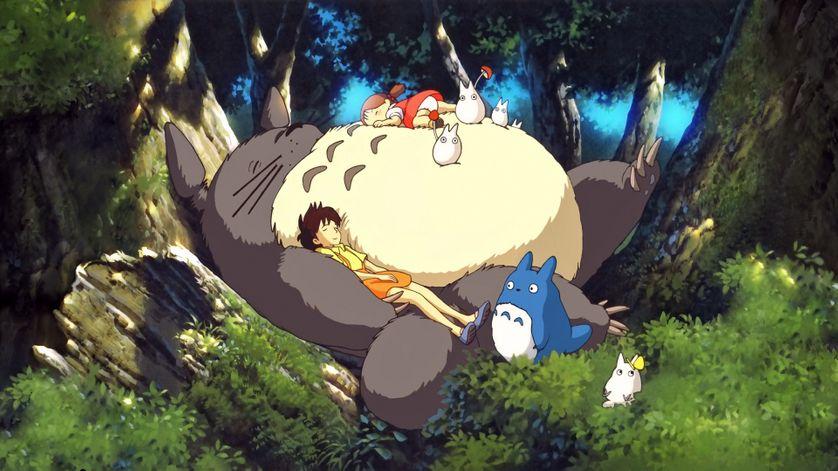 Mon voisin Totoro de Hayao Miyazaki (1988)• Crédits : Studio Ghibli