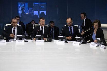 Emmanuel Macron en cellule de crise après l'attaque de Strasbourg