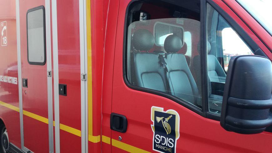 D'importants moyens de secours déployés pour un accident de la route à Sotteville (50)