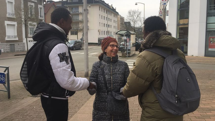 Jeanne-Marie Côme héberge des jeunes migrants chez elle quatre nuits par semaine.