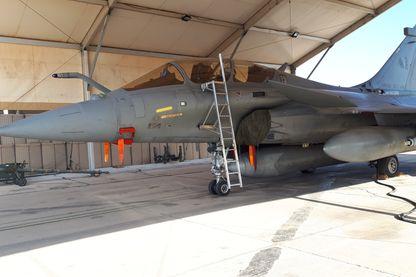 L'un des quatres Rafale français engagés dans la lutte contre Daech en Syrie