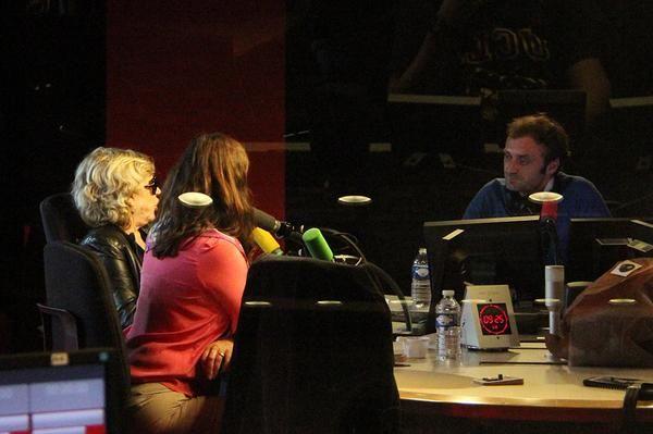 Marianne Faithfull avec Augustin Trapenard