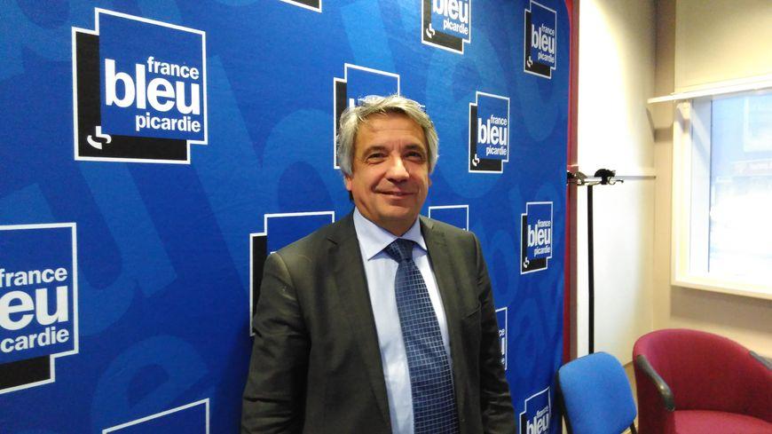 Laurent Somon, le président du conseil départemental de la Somme