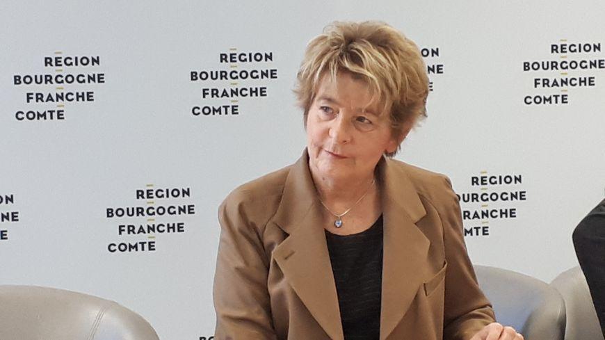 Marie-Guite Dufay, la présidente de la région Bourgogne-Franche-Comté