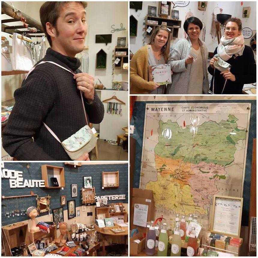 """La boutique éphémère """"Mayenne Créative"""" à Laval"""