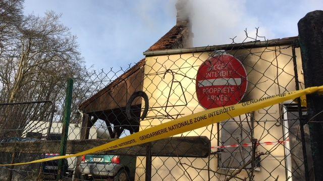 Les pompiers de l'Orne sont intervenus à Tanville où l'incendie s'est déclaré vers 2h du matin.