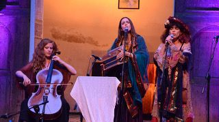 Tèrra Maire, de gauche à droite: Claire Menguy, Beatritz Lalanne et Marie-Ange Bouzinhac Gacherieu