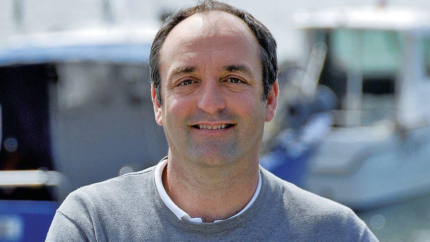 François Auber, le maire de Saint-Jouin-Bruneval