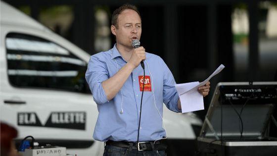 Denis Gravouil, secrétaire général de la CGT-Spectacle