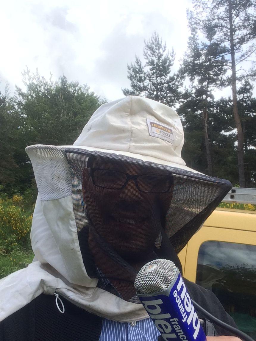 Reportage chez un apiculteur du nord Lozère