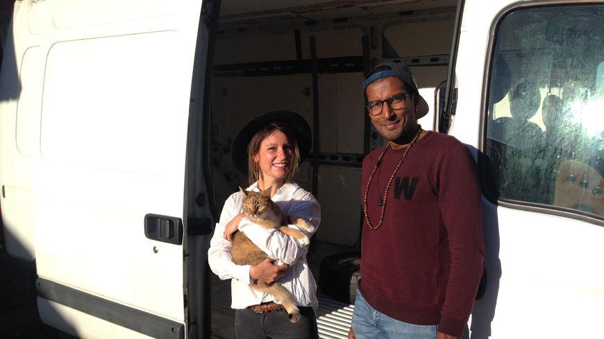 Caroline et Fred les deux globe-trotters de la Mayenne