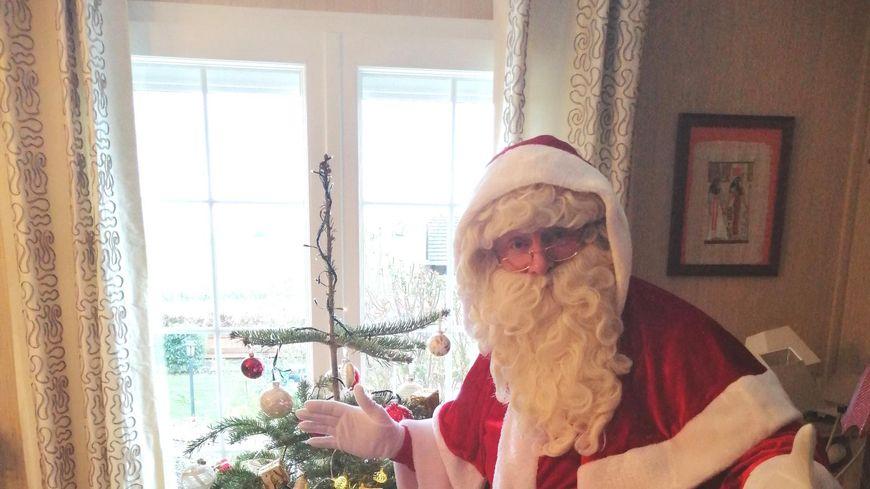 Eric est Père Noël depuis cinq ans