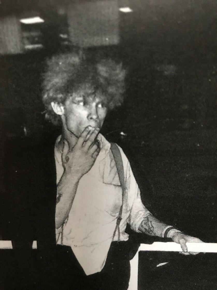 Gilles Bertin en 1982