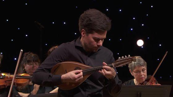 Vivaldi : Concerto pour mandoline en ré Majeur RV 93 P 209 (Julien Martineau / Rinaldo Alessandrini)
