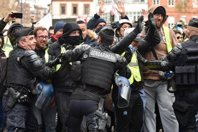 Manifestation des Gilets jaunes à Toulouse, 8 décembre 2018