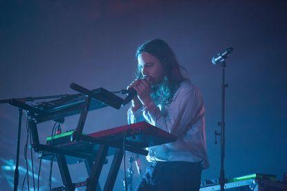 Flavien Berger en concert à la Grande Halle de La Villette (28 octobre 2016, Paris, France)