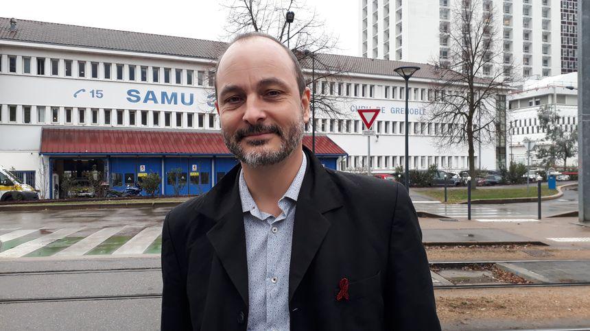 Le professeur Olivier Epaulard, infectiologue au CHUGA et président du Corevih