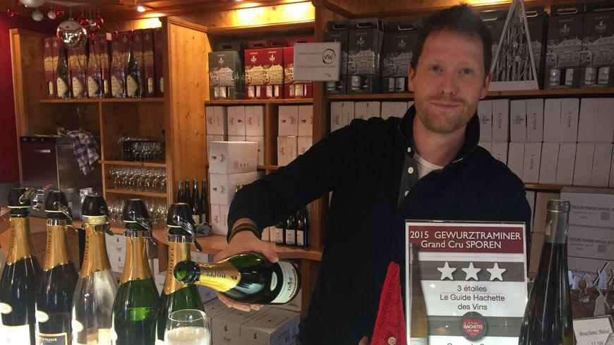 Chez Dopff au Moulin, pionnier du crémant d'Alsace, 30.000 bouteilles devraient partir pour les fêtes
