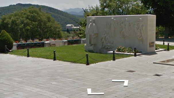 """capture écran du monument issu de """"Google Street View"""""""