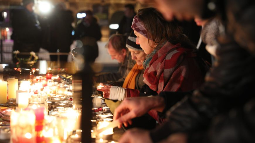 Hommages aux victimes de l'attentat de Strasbourg, le 12 décembre 2018