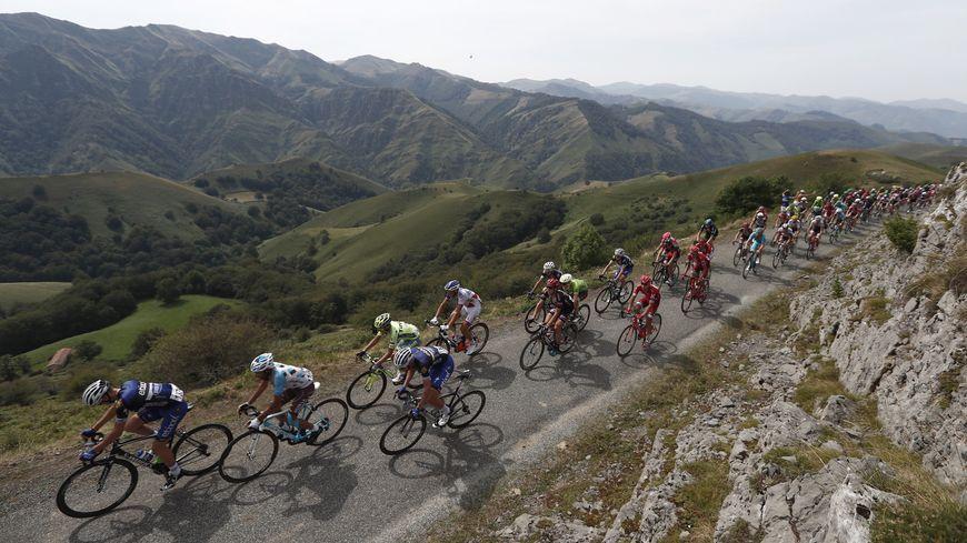 Le Tour d'Espagne était passé par le pays basque nord en 2016 lors d'une étape pyrénéenne entre Urdax-Dantxarinea et l'Aubisque