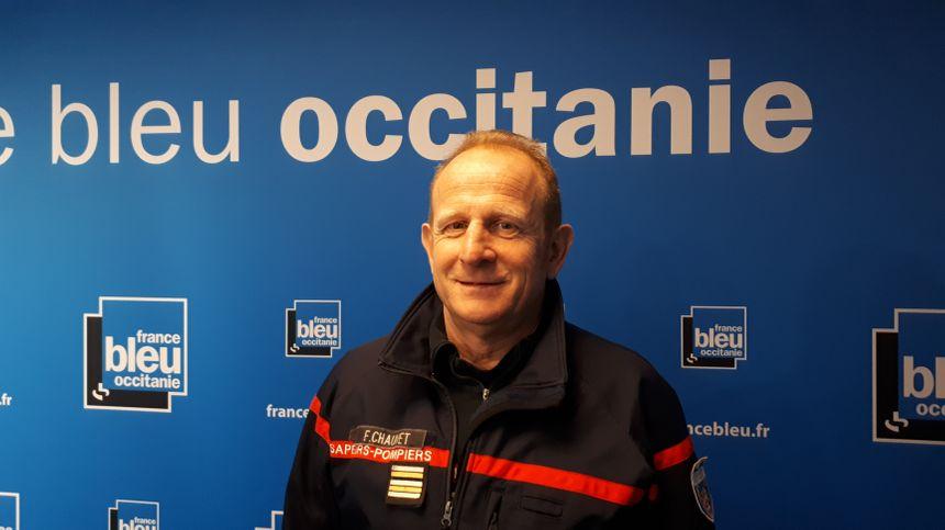 François Chauvet, directeur opérationnel des pompiers de Haute-Garonne.