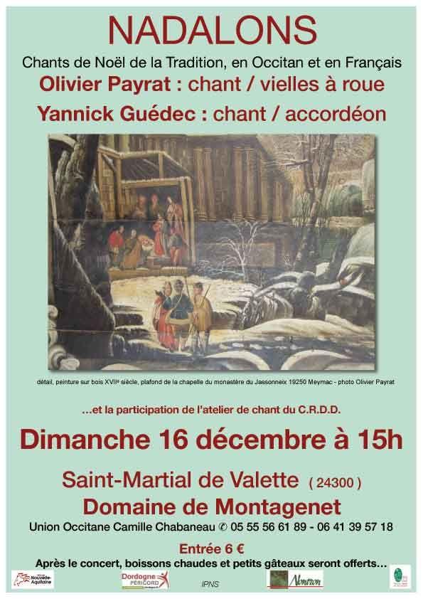 Nadalons  à St Martial