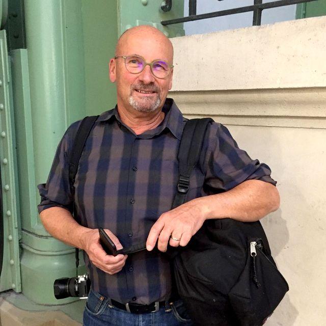 Le photographe Jacques Sierpinski
