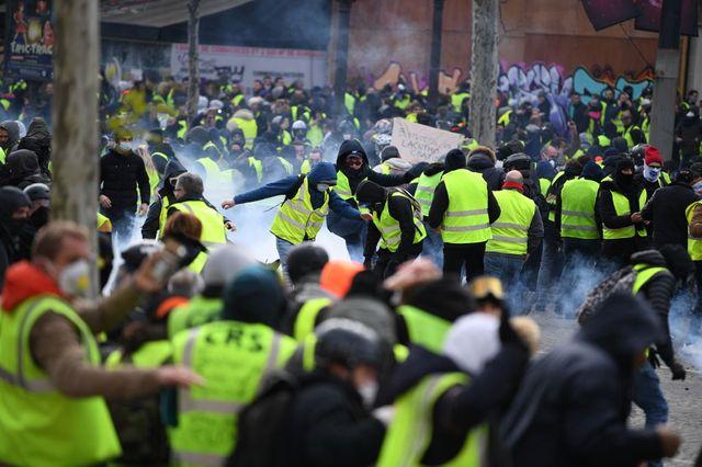 Manifestation des Gilets jaunes, Paris, 8 décembre 2018
