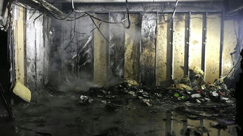 Moselle Incendie Au Centre Des Impots De Saint Avold