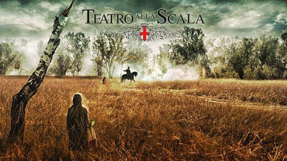 Visuel Attila de Verdi à la Scala de Milan