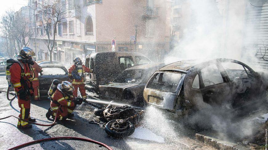 Une vingtaine de marins pompiers ont été mobilisés
