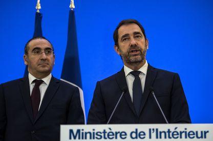 Laurent Nuñez (à droite), aux côtés de Christophe Castaner