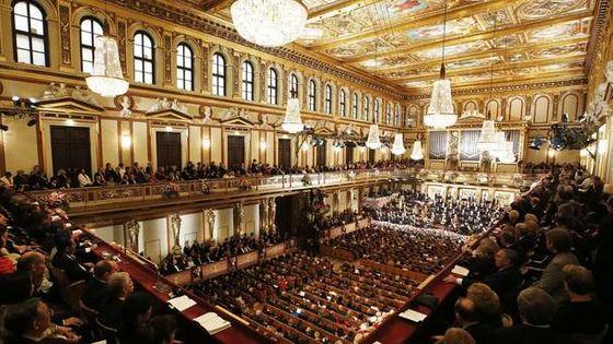 L'Orchestre philharmonique de Vienne, le 1er janvier 2013