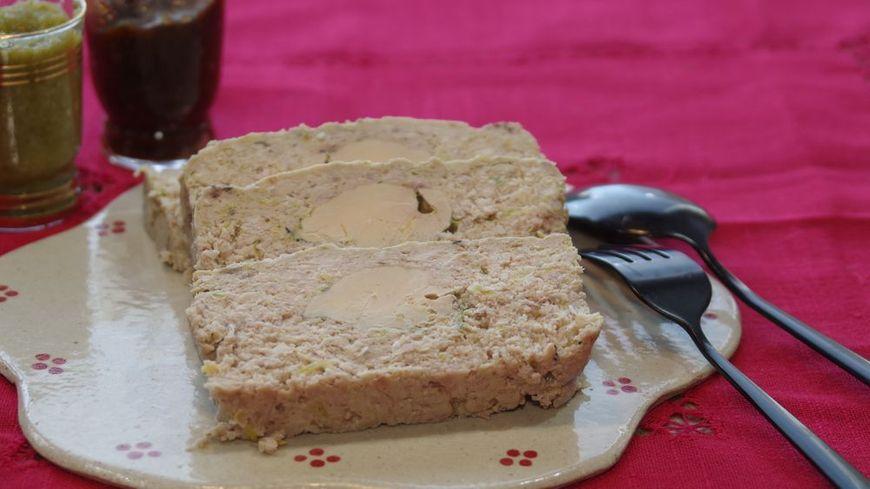 Pain de viande au foie gras