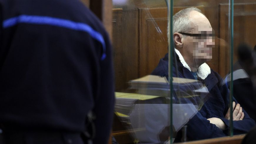 Francis Heaulme en 2017, lors du précédent procès sur l'affaire de Montigny-lès-Metz.