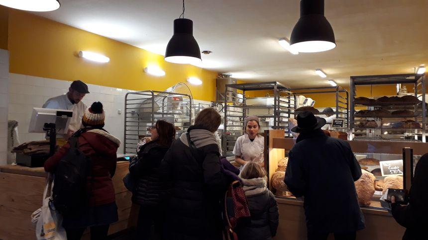 Chaque jour, en moyenne, 400 clients défilent dans la boulangerie.
